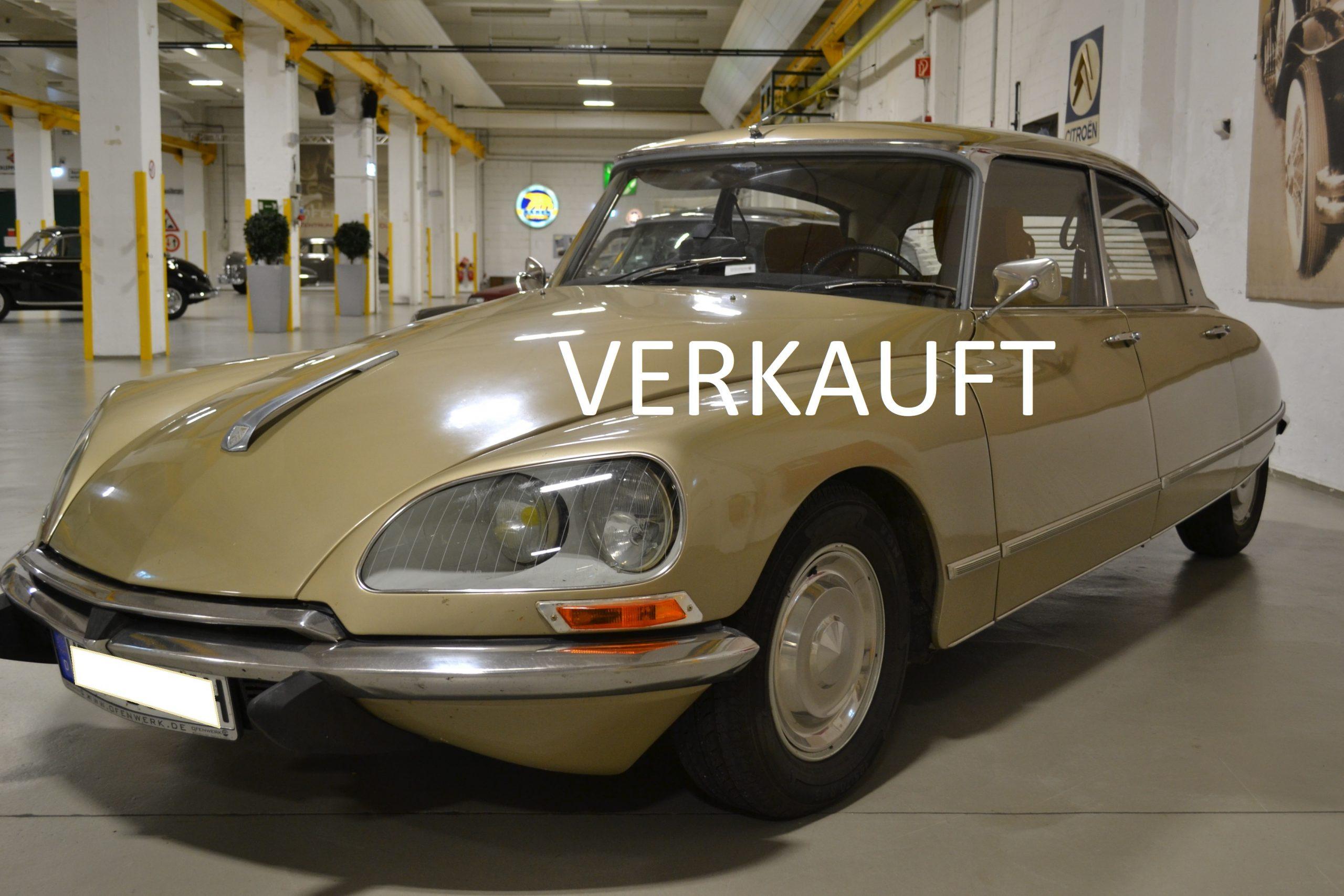 Citroën DS 21 i.E. Pallas Halbautomatik